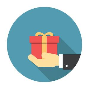 Giveaways and gifts to increase customer loyalty