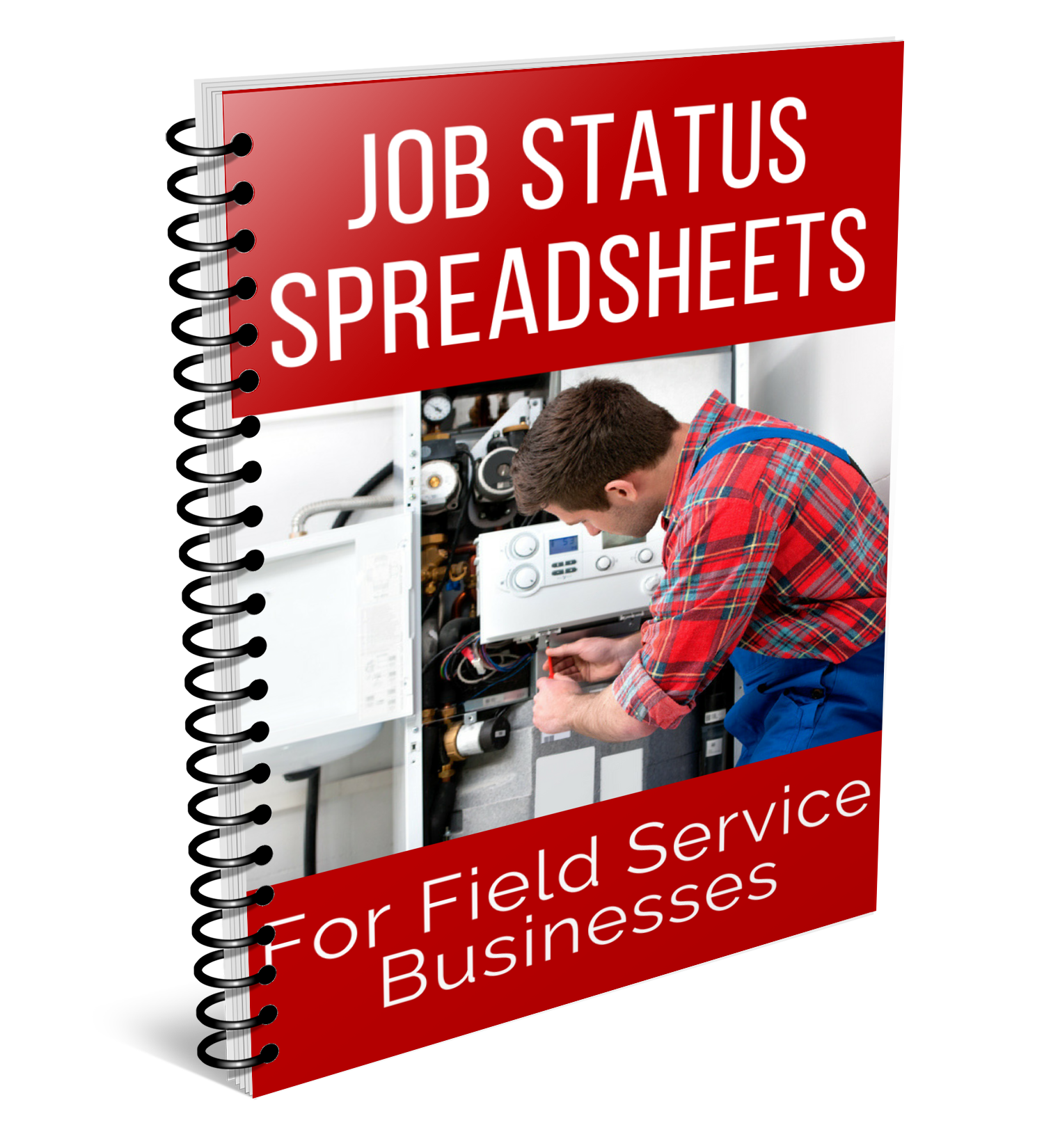job status sheet cover spiral